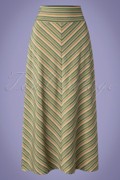 King Louie 27161 Border Maxi Skirt 20190128 003W