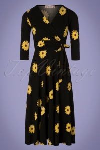 Vintage Chic 29025 50s Janice Flower Dress 20190129 002W