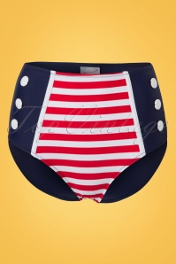 Bellissima Blue Red Sailor Bikini 21180 22118 20170522 005W