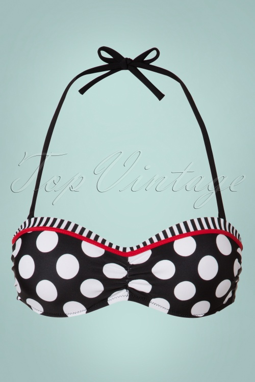 Bellissima Black White and Red Polkadot Bikini 22121 20170519 0003w