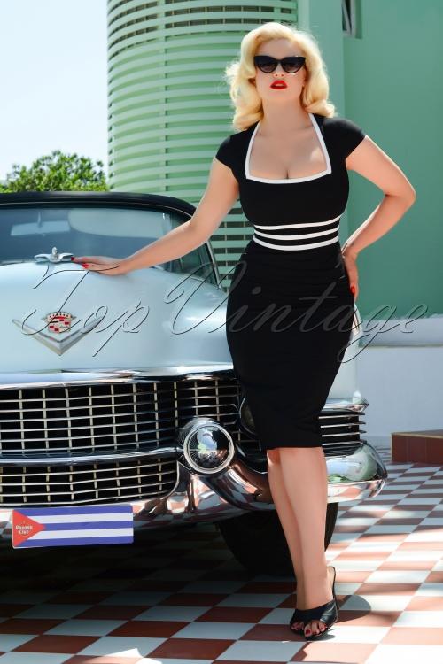 Stella Dress in Black 28154 2