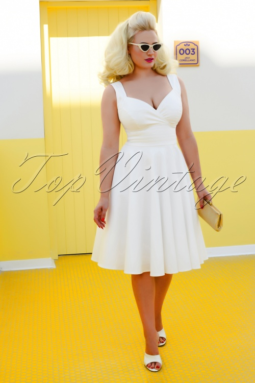 Glamour Bunny 28162 Trinity Dress White 20190107 02