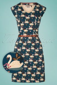 4FunkyFlavours 26623 Stormy Swan Dress 20190131 007W1