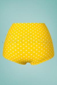 Red Dolly 28597 28602 Yellow Polkadot Bikini Top 20190129 007W