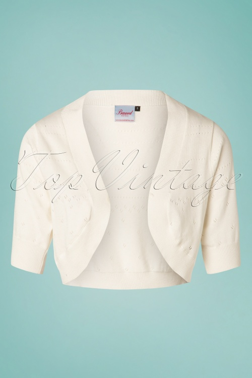 Banned 28579 You Are My Sunshine Bolero in Ivory 20181219 004W