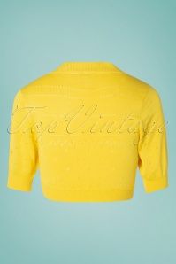 Banned 28580 You Are My Sunshine Bolero in Yellow 20181219 005W