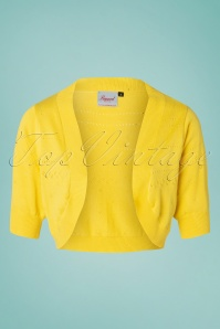 50s You Are My Sunshine Bolero in Yellow
