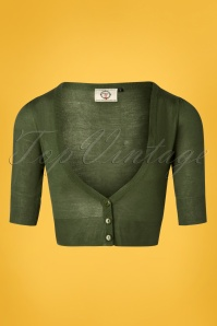 50s Bobby Cardigan in Khaki