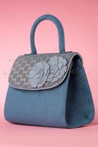 Ruby Shoo 26746 Handbag Tortola Teal 20190129 008W