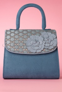 50s Tortola Handbag in Blue