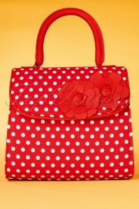 Ruby Shoo 26745 Handbag Tortola Red Spots 20190129 004W