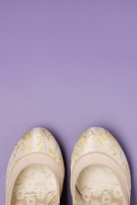 Ruby Shoo 26768 Mary Jane Lucia Cream Lemon 20190129 010