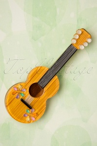 50s Flamenco Guitarra Brooch