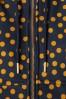 Danafae 26684 Line Softshell Polkadot Yellow Blue Raincoat Coat 20190206 008