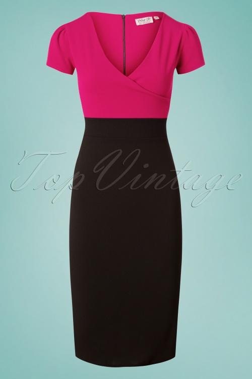 Vintage Chic 28737 50s Kristy Pencil Dress 20180706 0003W