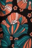 Mademoiselle Yeye 27060 Festival Feeling Coral Blue Flower 20190207 005