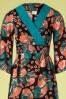 Mademoiselle Yeye 27060 Festival Feeling Coral Blue Flower 20190207 002V