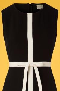 Mademoiselle Yeye 27074 Dress Black White Turn Up The Volume 20190207 005V