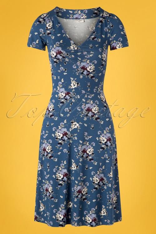 Vive Maria 27011 Mon Amour Blue Dress Flower 20190207 003W