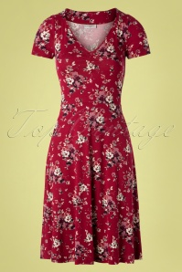 Vive Maria 60s Mon Amour Dress in Red