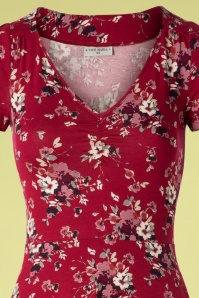 Vive Maria 27012 Mon Amour Dress Red Flower Purple 20190207 002V