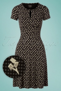 60s Rendez-Vous Dress in Black