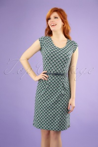 60s Regina Personality Dress in Navy