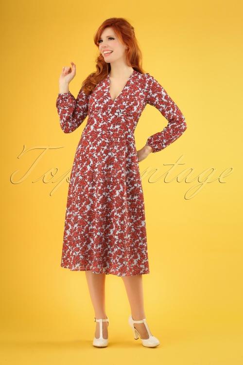Banned 27324 Mama Mia Red Blue Dress 20190115 1W