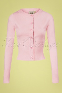 Dancing Days by Banned Dolly Cardigan in Pink 140 80 25912 20180516 01
