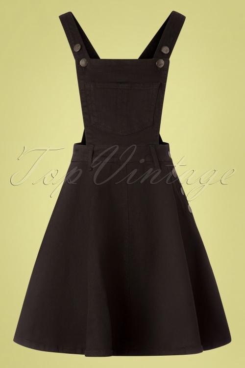 Bunny 28823 Dakota Black Denim Dress 20190212 001W
