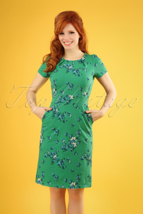 King Louie 27113 Mona Dress Amalfi Fern Green 20181214 1W