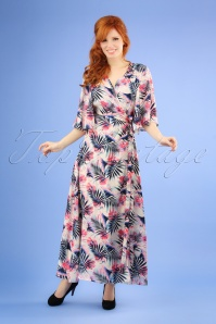 Traffic People 27323 Mari Tropical Floral Dress 20190117 1W