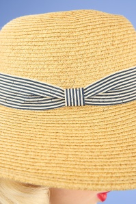 Amici 28027 Vizer Straw Beige Black White Stripe 20190131 003W