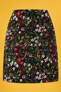 Blutsgeschwister 27282 Alltagsfalter Floral Skirt 20190208 006W
