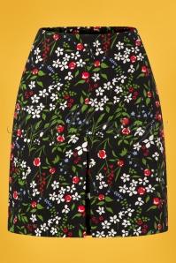 Blutsgeschwister 27282 Alltagsfalter Floral Skirt 20190208 002W