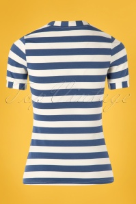 Blutsgeschwister 27309 Logo Stripe Top 20190208 008W