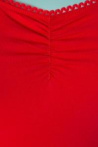 Blutsgeschwister 27303 Logo Shortsleeve Red Top 20190208 004W