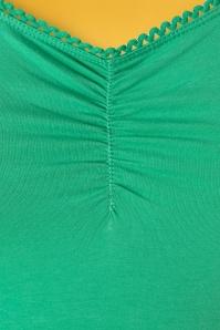 Blutsgeschwister 27304 Logo Shirt Green Shortsleeve top 20190212 003W