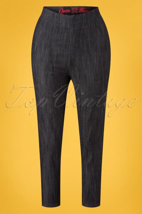 Queen Kerosin 27590 Capri Jeans 20190214 002W