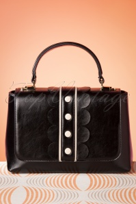 60s Deidra Handbag in Black