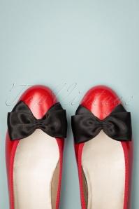 Menina 28088 Red Ballerina Bow Black 20190214 003W