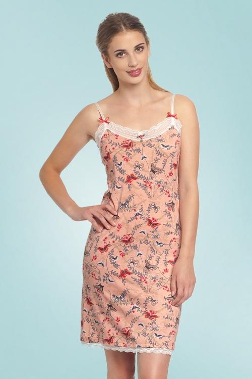Vive Maria 27605 VM Doux Pas Nightgown Pink Floral 20190207 020