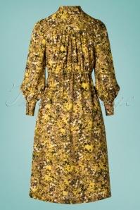 Louche 28288 Fiorella Long Yellow Dress 20190215 008W