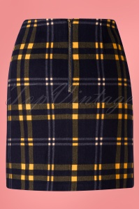 Louche 28137 Sibel Checkmate Mini Skirt 20190215 005W
