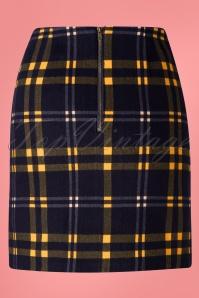 Louche 28137 Sibel Checkmate Mini Skirt 20190215 005W