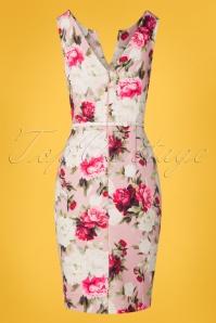 Paper Dolls 27813 Pink Floral Pencil Dress 20190218 022W