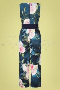 Paper Dolls 27814 Blue Floral Jumpsuit 20190218 007W