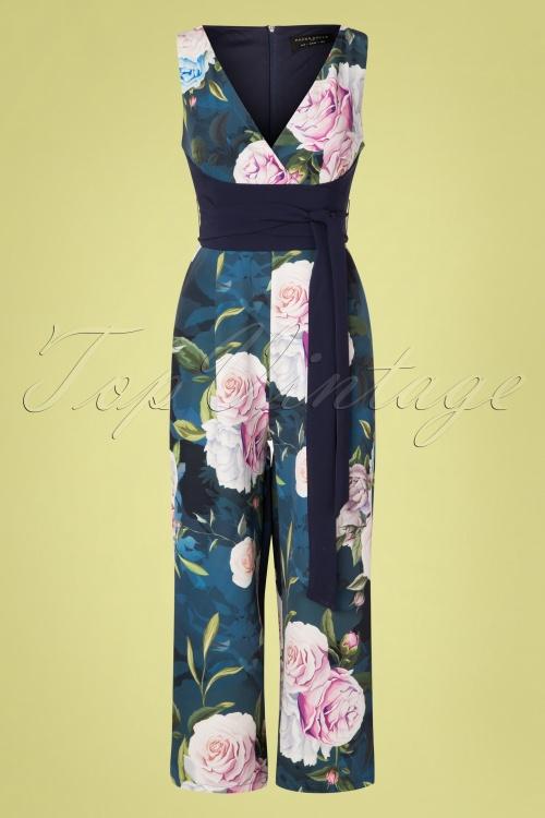 Paper Dolls 27814 Blue Floral Jumpsuit 20190218 002W
