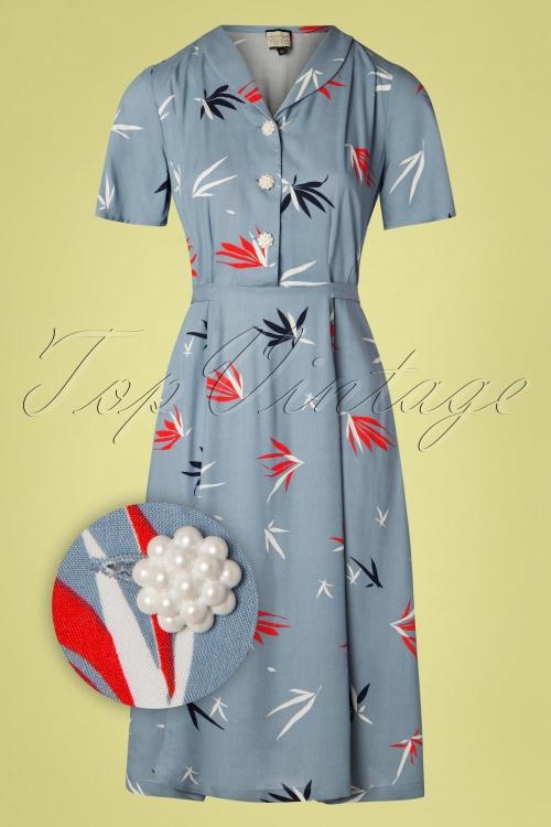 Mademoiselle Yeye 27051 A Lovely Palm Dress 20190218 003Z