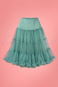 50s Soft Fluffy Petticoat in Light Green